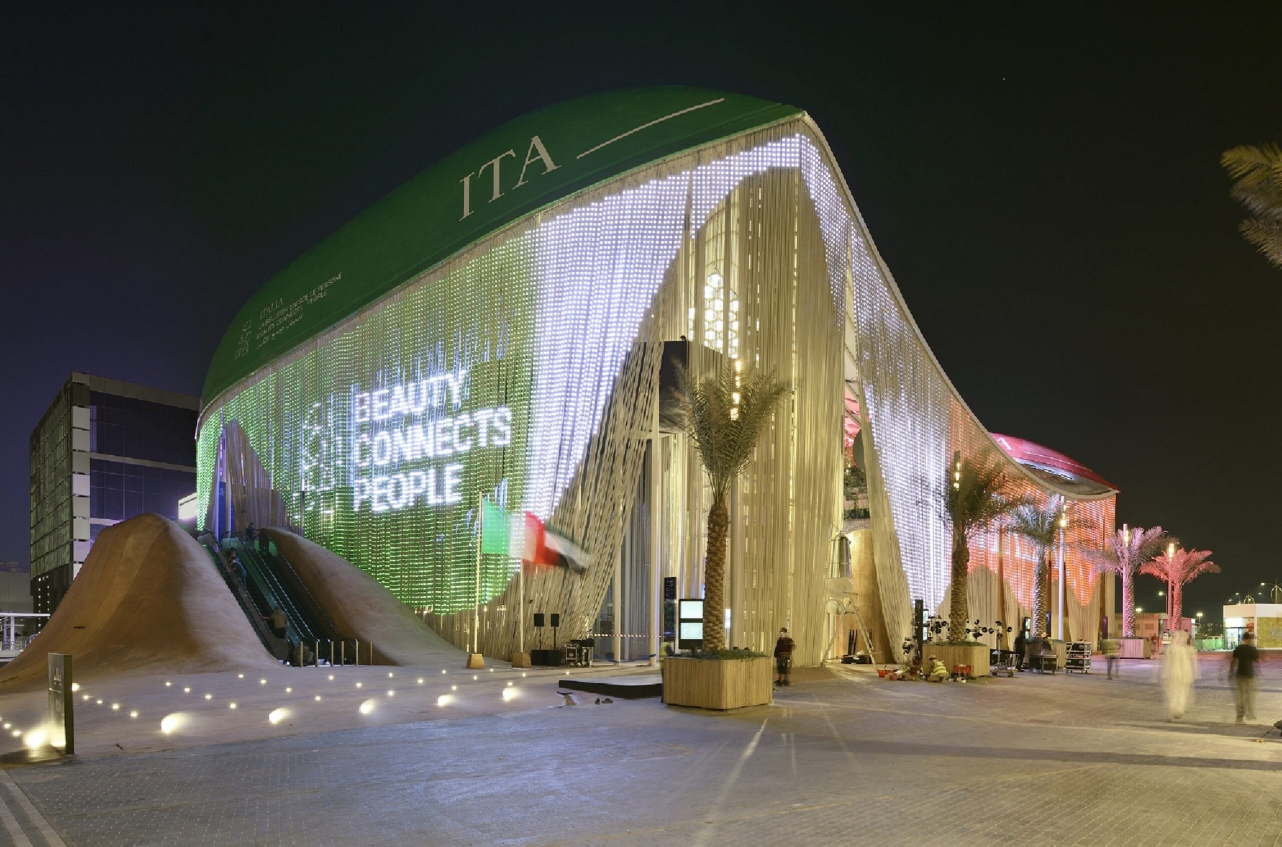 EXPO DUBAI 2020 Padiglione Italia credits del fotografo Michele Nastasi